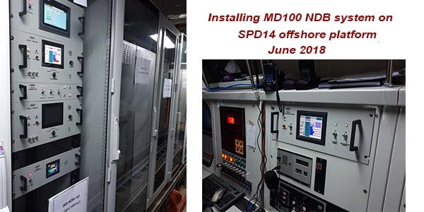 MD100 installing on SDP14